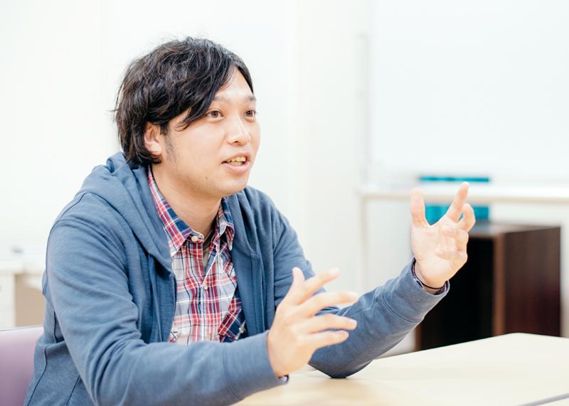 職員インタビュー山本